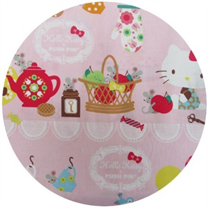 Kokka Japan, Hello Kitty Push Pin Kitchen Pink