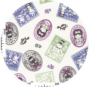 Kokka Japan, Lucky Rabbit Violet