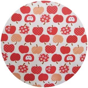 Kokka Japan, Patterned Apples Red