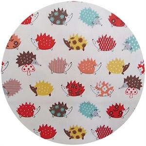 Kokka Japan, Patterned Hedgehogs Cheery