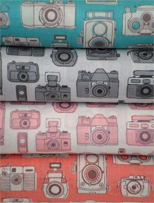 Kokka Japan, Snapshot Cameras 4 FAT QUARTERS in Total