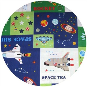 Kokka Japan, Space Travel Cheater (1 Yard Panel)