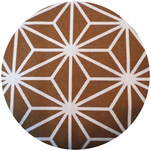 Kokka Japan, Traditional Basics, Geo Star Gold