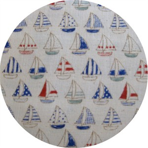 Kokka, Trefle Double Gauze, Little Sails Nautical