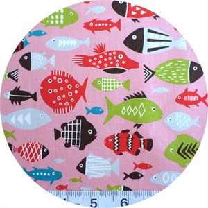 Kokka Japan, Under the Sea Pink