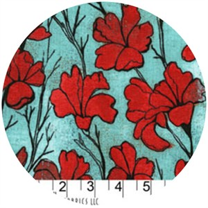 Laura Gunn, Cosmos, Daylilies Red