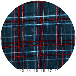 Laura Gunn, Cosmos, Skinny Plaid Blue