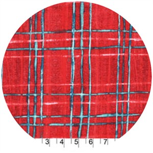 Laura Gunn, Cosmos, Skinny Plaid Red
