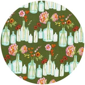 Laura Gunn, Vignette, Bouquet Stripe Olive
