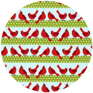 Laurie Wisbrun, Holiday Sweet Tweets, Cardinal Stripe Holiday