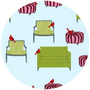 Laurie Wisbrun, Holiday Sweet Tweets, Cardinals & Cushions Holiday