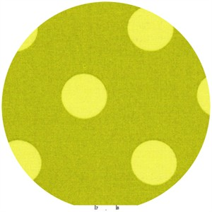 Lecien, Color Basic, Dot Chartreuse