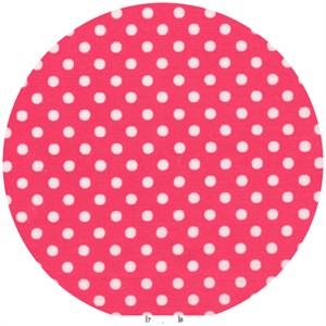 Lecien, Color Basic, Pin Dot Hot Pink