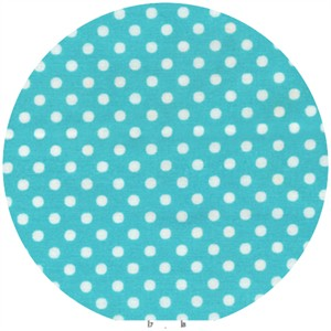 Lecien, Color Basic, Pin Dot Turquoise