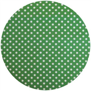 Lecien, Color Basics, Pin Dots Green