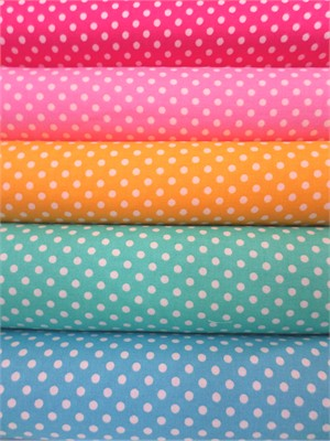 Lecien, Color Basic, Pin Dot in FAT QUARTERS 5 Total