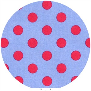 Lecien, Color Basics Spots, Periwinkle