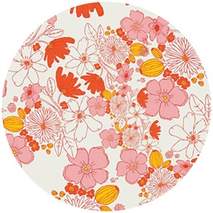Leah Duncan for Art Gallery, Meadow, Leas Bloom Blush