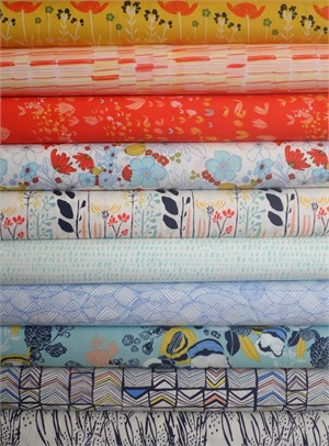 Leah Duncan, Meadow, Picnic by the River in FAT QUARTERS 8 Total