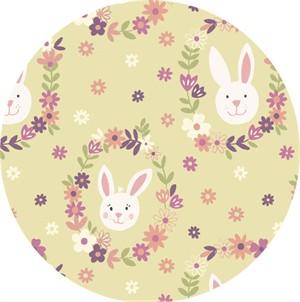Lewis & Irene, Bunny Garden, Bunny Wreath Sunshine