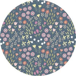 Lewis & Irene, Bunny Garden, Pretty Flowers Denim