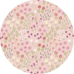 Lewis & Irene, Bunny Garden, Pretty Flowers Pink