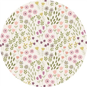 Lewis & Irene, Bunny Garden, Pretty Flowers White