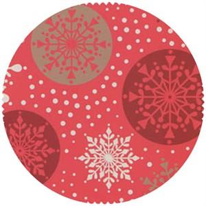 Lewis & Irene, Noel, Snowflakes Red