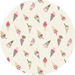 Lewis & Irene, Picnic in the Park, Ice Cream Cones White