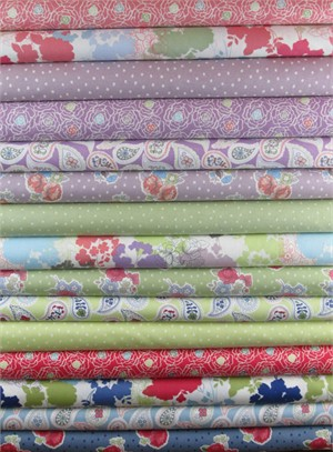 Lewis & Irene, Timsbury Lane in FAT QUARTERS 15 Total