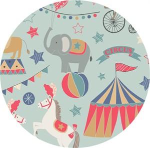Lewis & Irene, Vintage Circus, Big Top Blue