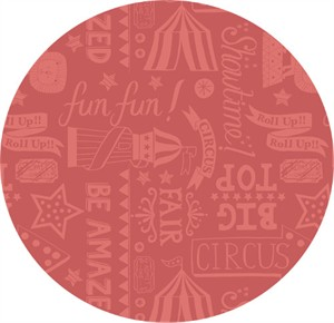Lewis & Irene, Vintage Circus, Roll Up! Roll Up! Soft Red