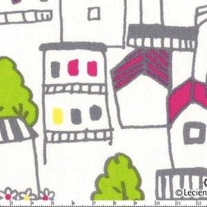 Lecien, Isso & Ecco Heart, Houses Grey