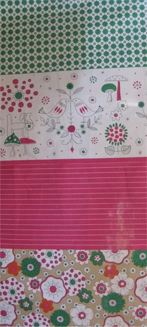 Lecien, Mina Koko, Stripe Panel Pink
