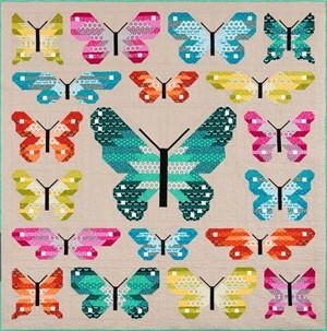 Sewing Pattern, Elizabeth Hartman, Lepidoptera Quilt Kit