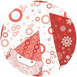 Lecien, Winterkist, Santas Red (1 yard panel)