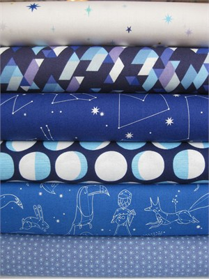 Lizzy House, Constellations, Galaxy in FAT QUARTERS, 6 Total