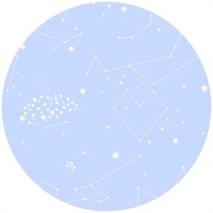 Lizzy House, Constellations, Star Charts Blue
