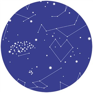 Lizzy House, Constellations, Star Charts Purple