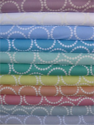 Lizzy House, Pearl Bracelets Soft in FAT QUARTERS 11 Total