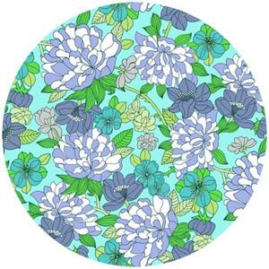 Liberty Lifestyle Fabrics, Bloomsbury Gardens, Copeland Pale Blue