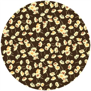 Liberty Lifestyle Fabrics, Bloomsbury Gardens, Dance Natural Brown