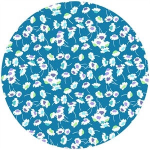 Liberty Lifestyle Fabrics, Bloomsbury Gardens, Dance Pale Blue