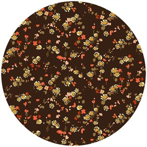 Liberty Lifestyle Fabrics, Bloomsbury Gardens, Dorothy Natural Brown