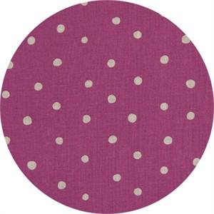 Cosmo Textiles, LINEN, Linen Dot Lavender