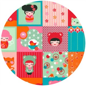 Lisa Tilse for Robert Kaufman, Hello Tokyo, Patchwork Sweet
