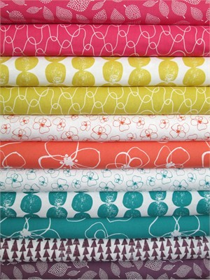 Lotta Jansdotter, Mormor, Spring in FAT QUARTERS 10 Total