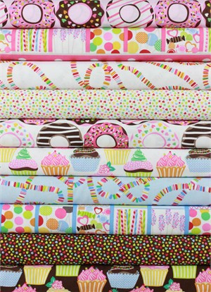 Maude Asbury for Blend, Lolly in FAT QUARTERS 9 Total (PRE-CUT)