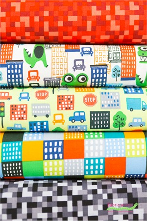 Michael Miller, Loose in the City in FAT QUARTERS 5 Total