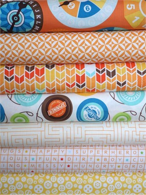 Lori Whitlock, Fun & Games, Orange in FAT QUARTERS 7 Total